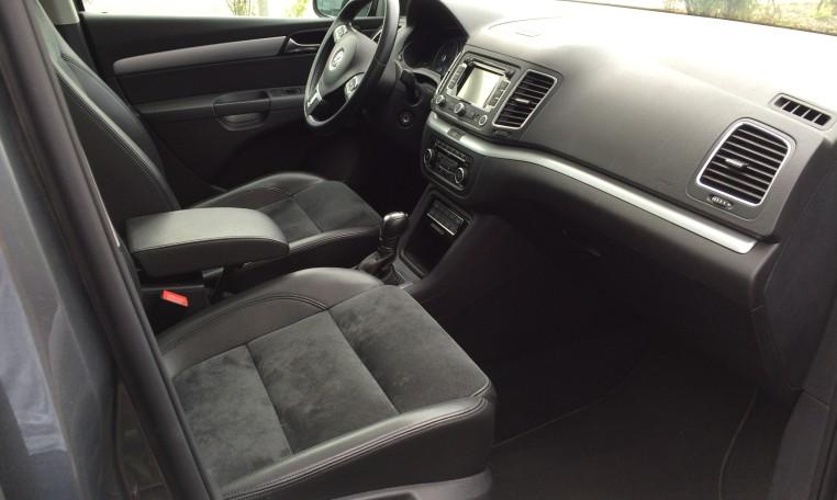 volkswagen sharan 2 2 0 tdi 177 fap bluemotion technology carat dsg6 achat et vente de voiture. Black Bedroom Furniture Sets. Home Design Ideas